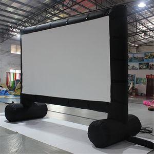 في الهواء الطلق فيكسفورد نفخ شاشة فيلم الإعلان نفخ شاشة الإسقاط السينما للبيع
