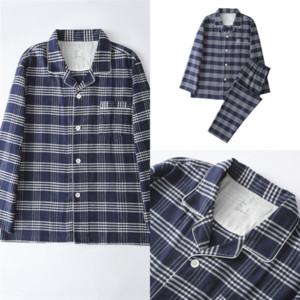 4778 Pajamas MUJI Female Doll Collar Strawberry Long-sleeved Gowns for MUJI-style Women Plaid Dressing Female Cute Casual Homewear