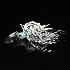1 шт. Buzz Bait Рыболовные приманка свинцовые головки металлические ложки Spinner Bait Clank Hook 10G 70 мм Спиннер шины снасти аксессуары WMTFZC XHLOVE