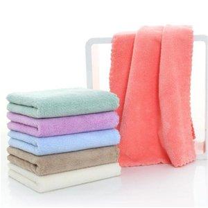 Pure Color Face Towel Toalha de Água Infantil Toalha Macio Viagem Ao Ar Livre Portátil Home Têxteis 12 Cor YHM888