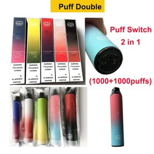 Puff Doble Vape Vape 2000 Skuff Switch Vapor 900mAh Batería 6ml POD Stick PK PROMAX VMAX Puff Bar Plus XXL MAX