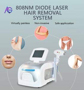 الدائم 808nm ديود ليزر إزالة الشعر آلة الجسم الوجه إزالة الشعر بيكيني جميع أنواع البشرة 808 آلة إزالة الشعر للاستخدام صالون