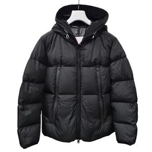 Мужская куртка Куртка Пальто Зимняя Вышивка Куртка Высокое Качество Мужчины Женщины Зима Повседневная Открытый Теплый Опытный Управьте Управлять Теплый Классический стиль