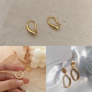 59D Autêntica Cz Rosa Cor-de-rosa Brinco de aro entrelaçados com brincos de aro de prata completa para mulheres de casamento de casamento subir ouro brinco pandora