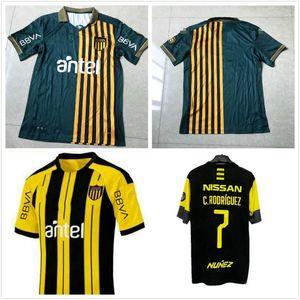 2019 2020 2021 Club Atletico Penarol Soccer Jerseys Peñarol Uruguay Lucas Ezequiel Viatri New Home Formio Formiliano Football Shirts