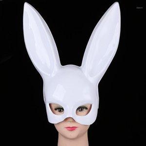 Theme Masquerade Bunny Accesorios Sexy Accesorios Halloween Disfraces Máscara Girl Womens Costume Club Christmas Party Rabbit Rqlqn