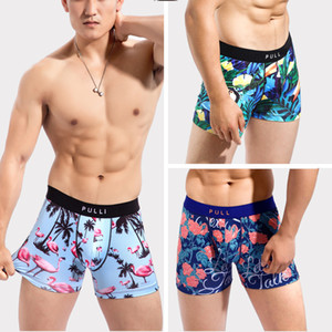 New Collection Biancheria intima da uomo Boxer Sexy palestra Pull Bikini sotto usura Manin Cartoon Leica X1116