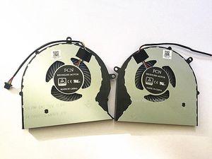 Nuevo ventilador original de CPU de portátil original para ASUS FX63V FX63VM FZ63VM FX63VM7300 FX63VM7700 DFS602212M00T DFS552012M00T1
