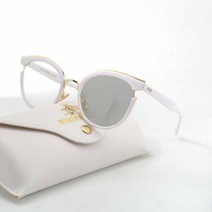 Occhiali da sole rifiniti Bianco Eyeglasses Frame con Sun PhotoChromic Cat Glasses Unisex Reading Glasshe FML