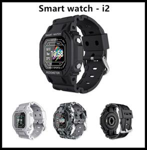 Retail Smartwatch I2Bluetooth Call 44mm Smart Fitness Track Sleep Tracker Watch Heart Rate Monitor Blood Pressure VS PK IWO12 IWO8