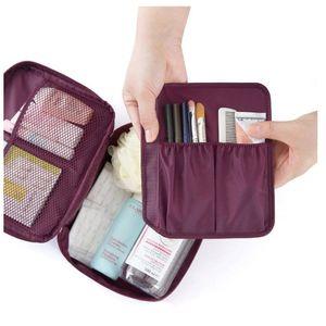 Sac à maquillage pour organisateur de voyage Haute capacité Multi-fonction Sac de rangement Sacs cosmétiques Sacs Buggy Sacs Pochette Femmes Sac à main Will et Sandy Yhm470