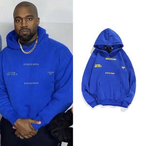 Stranger Things Hoodies Jesus Is King Kanye West Pullovers Sweatshirts Hip Hop Fleece Hoodies Urban Streetwear Clothes MensX1121