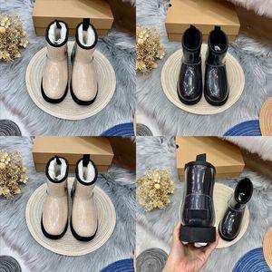 850 Yellow mens winter designer booties wool shoe womensnowboots boot woman bottes men classic designer snow straps casual warm ma