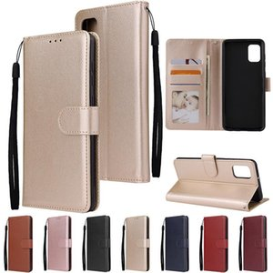 Wallet PU Leather Case Photo Frame Slots For Samsung A10S A20S A30S A70S A10 A20 A30 A50 A60 A70 A51 A71 A01 A81 A91 A21 A41 A11 A31 A70E