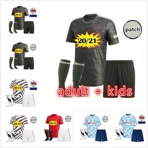 kids Manchester 2020 2021 united UTD soccer jerseys CAVANI VAN DE BEEK B. FERNANDES RASHFORD football shirt 20 21 adult kids kit HUMANRACE