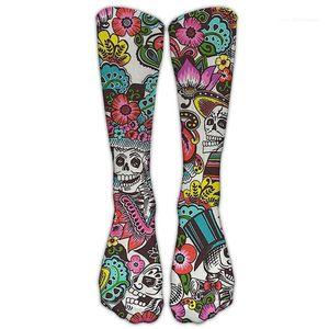 Winter Herren Womens Socken Frauen 3d Halloween Socken Mode Weihnachten Elch Casual Socken Herbst