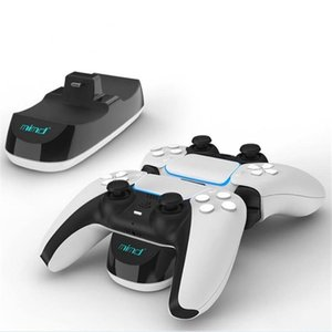Dual Charger Dock Mount Charging Stand For PS5 Gamepad Wireless Controller With Retail Box New Arrival