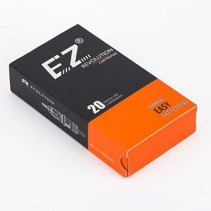 EZ Revolution Carttridge Agujas Tattoo Agujas Redondas 3.5 mm Taper Medio Para Máquina Rotary Grips 20 PCS / Caja