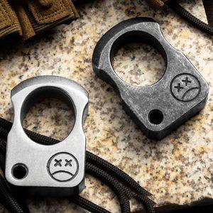Selbstverteidigung Metall Finger Tiger Verteidigungswaffe Ring Weibliche Anti Wolf Gerät Outdoor Defense Ring HW49