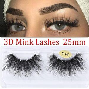 1Pair 3D Mink False Eyelashes Wispies Criss-cross Fluffy Thick Long Eyelashes Extension Lightweight Cruelty-free Eye Makeup Tool