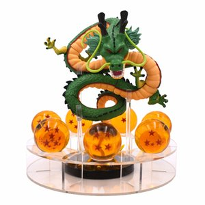 15cm Anime DBZ Action Figures Shenron DBZ Figures Set Esferas Del Dragon 7pcs 3.5cm Balls Shelf Figuras 201202