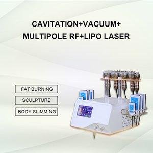 En Lazer Lipo Liposuction zayıflama makinesi diyot lazer ışıkları Kavitasyon Ultrasonik Yağ Temizleme Ekipmanları Spa Salon kullanımı LipolaseR