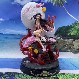 31 cm Anime Şekil iblis Slayer Kamado Nezuko PVC Action Figure Oyuncak Kimetsu Hiçbir Yaiba GK Heykeli Yetişkin Koleksiyon Model Bebek Hediyeler Q1217