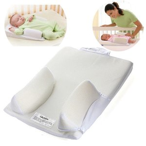 New Baby Sleep System Positioner Pillow Anti Roll Sleeping Mat Safe Head Back Waist Support Infant Prevent Flat Head Fixed Pillow