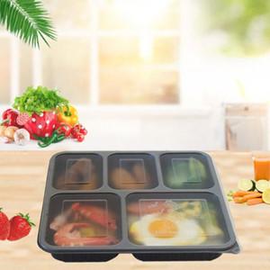 Il cibo grade PP materiale contenitore per alimenti di alta qualità bento contenitore di conservazione degli alimenti di dialogo per il commercio all'ingrosso GWD2997