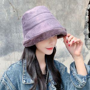 Czapka Zimowa Damska Extra Velvet for Ward Style Hats 2020 قطيف نسائي جديد