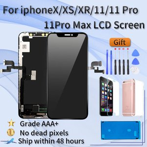 OLED Display For iPhone X XR XS 11 pro Max TFT screen assembly, iphone max 11pro LCD Display,3D Touch True Tone