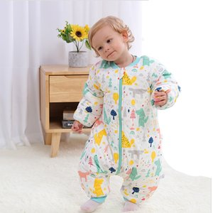 Baby Sleepsacks Sleeping Bag Carriage Sack Newborn Baby Children Bed Play Split Leg Winter Anti Sleepsacks Warm One-Piece Pajama W1222