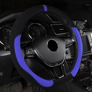 عجلة القيادة يغطي غطاء سيارة جلدية للفئة E W210 T210 W211 T211 W212 W213 W124 GLA X156 CLA GLK 350 X204 GLC 3001