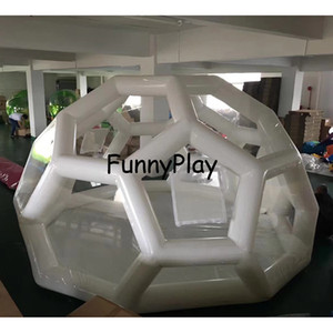 holiday camping bubble tent inflatable dome luna trade show travel beach hotel house pvc Inflatable soccer football tent Z1123