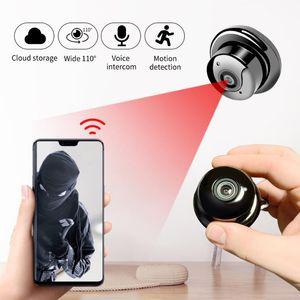 V380 1080P Wireless Mini WiFi Camera Home Security Camera IP CCTV Surveillance IR Night Vision Motion Detect P2P 720P micro cam