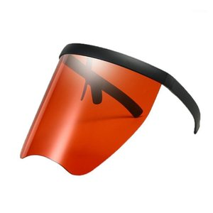 Child Goggles One Piece Anti-Peeping Sunglasses Men Fashion Women Sports Rimless Outdoor FML1 Windproof Mask UV Glasses Sun Isohj