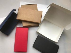 50pcs Craft Kraft Paper Box Packaging Box Wedding Party Small Gift Candy Favor Package Boxes For Handmade Soap Storage