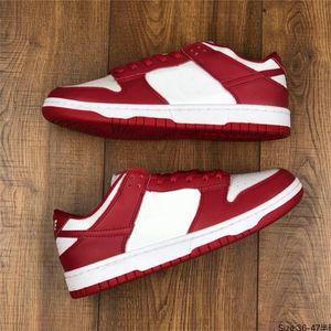 Classic SB Low University Red Sneakers Seja fiel à sua escola para o homem sapatos SP St. Johns Kentucky Atacado Pato Chicago Skates Sapatos