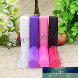 200pcs 5ml multicolor Plastic Lotion lipstick Container Lip Balm pink PP lipstick bottle DIY Empty Refillable Lip Gloss tube