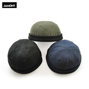 Coton Hommes d'automne Crullies sans bride Capuchon Capuche de rue Urban Street Docker Docker Multipurpose Miki Bonnet Hat