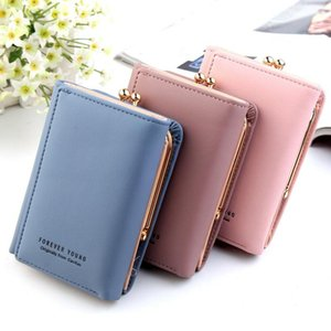 UK Women's Fashion Short Small Wallet Lady Leather Folding Coin Card Holder Money Purse