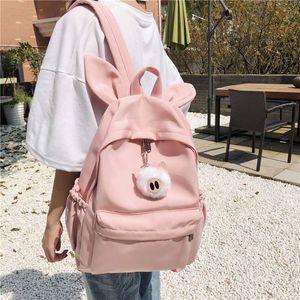 Джирско милый многофункциональный рюкзак женский корейский стиль маленький свежий хараджуку кампус водоотталкивающая школьная сумка мочила эсколар Q1129