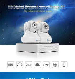 Vistarcam N400-C37 720p Wireless PTZ IP Dome Camera 2CH NVR Kit1