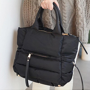 2020 New Winter Space Cotton Handbag Women Casual Totes Bag Down Feather Padded Lady Shoulder Bag Sac A Mian Crossbody