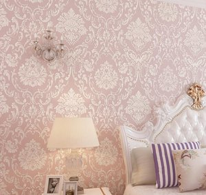 Modern Damask Wallpaper Wall Paper Embossed Textured 3d Wall Covering For Bedroom jlljpx powerstore2012