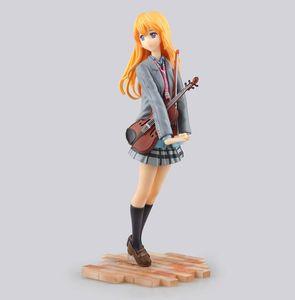 Anime Posture beautiful woman violin wonderful Lifelike PVC Action Figure Anime Figure Model Toys Collectible Doll Gift