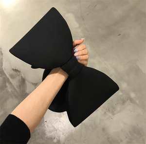 Big Bow Handbag Ribbon Bags Designers Women Girls Cute Wrist Bag Bracelet Bangle Purses Dining Party Clutch Makeup Cosmetic Bag Tote LY11272