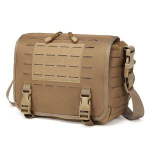 Molle Shoulder Bag Tactical Army Fanny Belt Messenger Backpack Outdoor Sport Camping Hunting Fishing Bag Pack