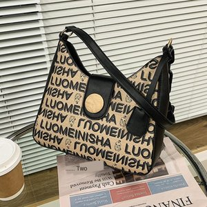 Sense of Quality Special-interest Design Bag New Fashionable Fashion Popular All-match Shoulder Bag 2020 Autumn and Winter Black