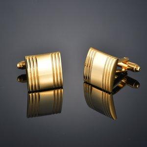 Роскошные золотые заповечики для джентльменского воина / буквы / труба / регби / драгоценные камни / узел манжеты ювелирные изделия мужчины галстуки подарки F6